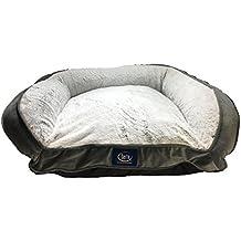 Serta Petite Couch Memory Foam Blend Pet Bed 24 x 20 Soft Grey