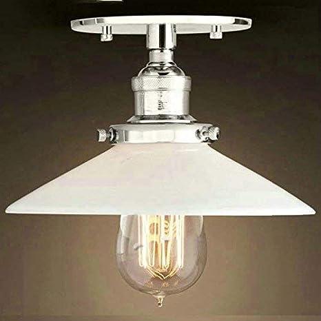 Retro Vintage Plaque haenge lamp 22cm ancho 22cm ancho ...