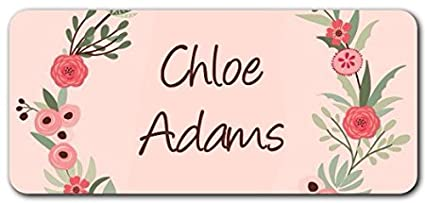 Amazon Com Personalized Name Labels Cute Customized Designs For