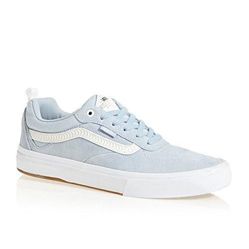Vans x Spitfire Kyle Walker Pro Sneakers (Baby Blue) Men's Suede Skate Shoes