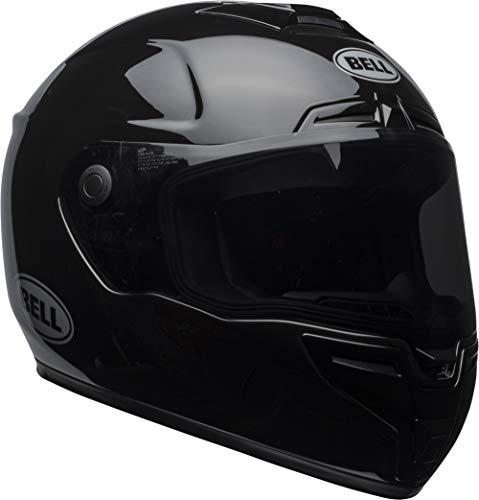 Bell SRT Street Motorcycle Helmet (Gloss Black, -