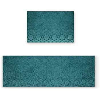 Amazon Com Z Amp L Home Kitchen Rugs And Mats Non Skid Set Of