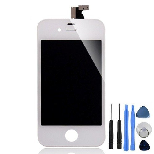 Bislinks® New Replacement LCD Screen And Digitizer Display Assembly White For iPhone - Iphone 3gs Digitizer