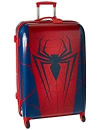 American Tourister Disney Marvel All Ages Spinner, Spiderman, Checked – Large