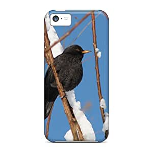 Iphone 5c QlO55633BZgc Merle Sous La Neige Cases Covers. Fits Iphone 5c