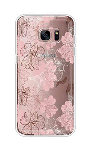 Gismo Designer Printed Soft Silicone Pouch Back Case Mobile Cover for Samsung Galaxy S7 Edge  BPNG100