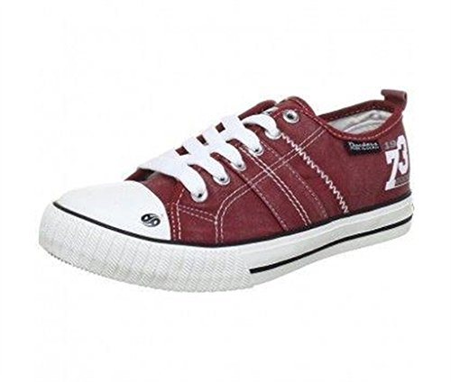 2674e267a683 Dockers by Gerli Girls  Trainers Red Size  1  Amazon.co.uk  Shoes   Bags