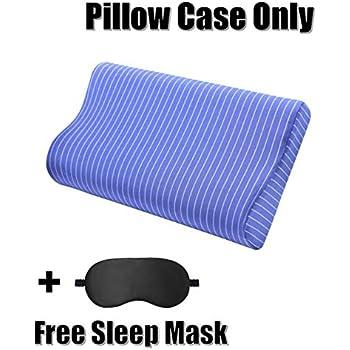 Amazon Com Contour Pillow Cover Replacement Pillow Case