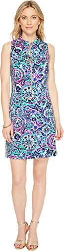 Lilly Pulitzer Women's Opal Shift Dress Multi The Swim Engineered Dress Large by Lilly Pulitzer