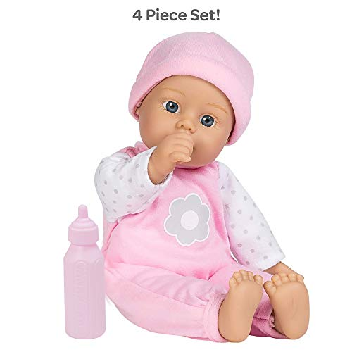 Adora Sweet Baby Girl Blossom, Doll Washable Soft Body Vinyl Play Toy Gift 11-inch