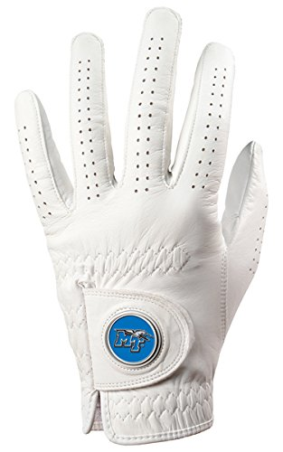 Middle Tennessee StateブルーRaiders Golf Glove & Ball Marker – Left Hand – XX Large   B00BPJES44