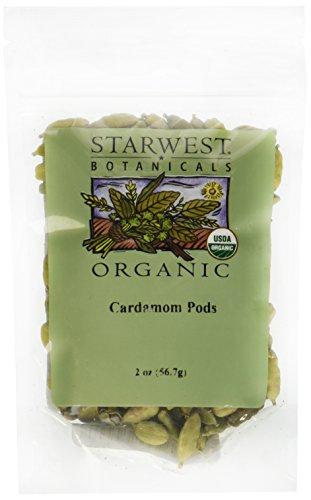 Cardamom Pods Whole Organic - 2 oz by Starwest Botanicals