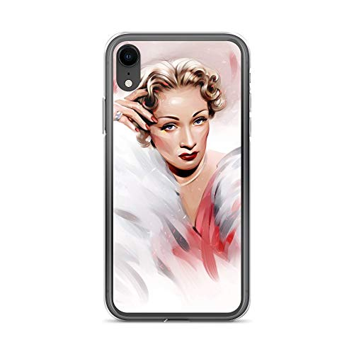 iPhone XR Case Anti-Scratch Motion Picture Transparent Cases Cover Marlene Movies Video Film Crystal Clear ()