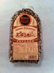 amish purple popcorn - 6