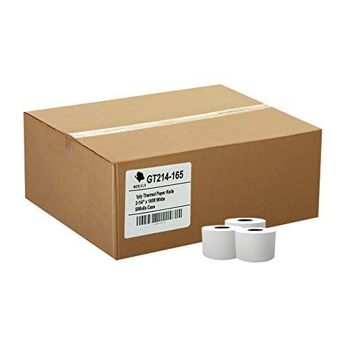(50) Gorilla Supply 2-1/4 X 165 Thermal Paper Rolls Sharp Cash Register