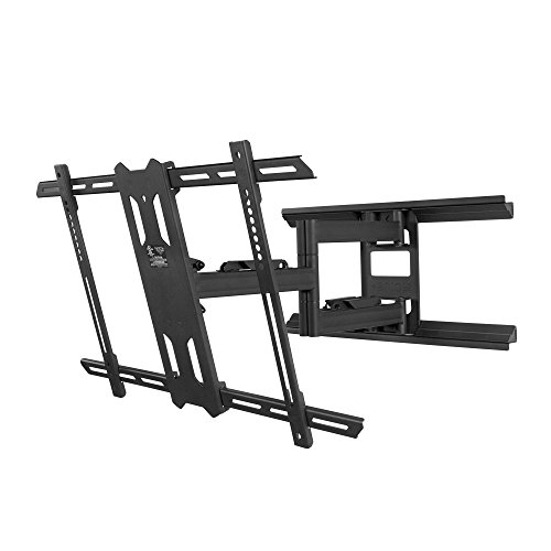 kanto full motion tv wall mount for 37 inch to 75 inch flat screen monitor easy install. Black Bedroom Furniture Sets. Home Design Ideas