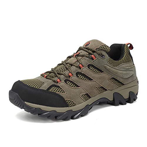 FANTURE Men's Lightweight Hiking Shoes Camping Shoes Outdoor Sneakers