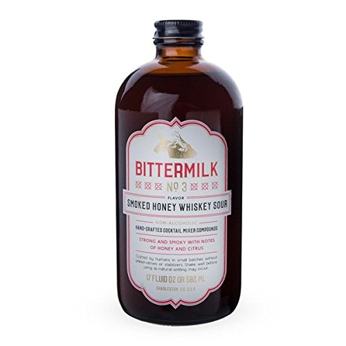 Bittermilk No.3 Smoked Honey Whiskey Sour Cocktail Mixer - 17 oz