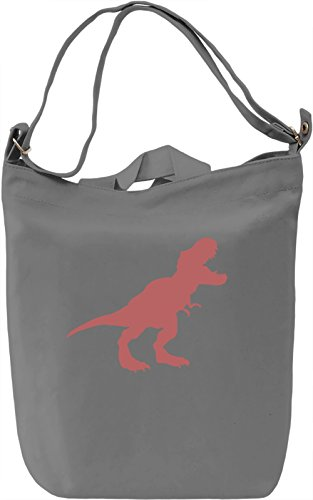 T-rex Borsa Giornaliera Canvas Canvas Day Bag| 100% Premium Cotton Canvas| DTG Printing|