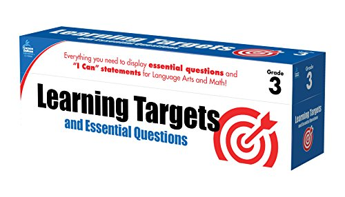 Learning Targets and Essential Questions, Grade 3