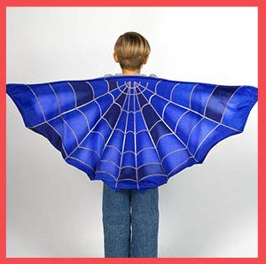 Cozy Wings by Jay at Play Spider Web - Wrap Around Magic Wings Keep Kids Warm & Cozy for Naptime, Playtime, or Anytime - Size Fits Most Kids]()