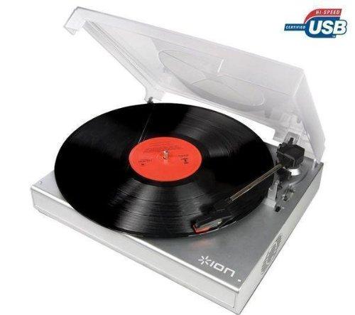 Ion PowerPlay LP USB-Powered Vinyl-to-MP3 Turntable