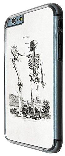 425 - Skeleton Skull Bones Design iphone 6 6S 4.7'' Coque Fashion Trend Case Coque Protection Cover plastique et métal