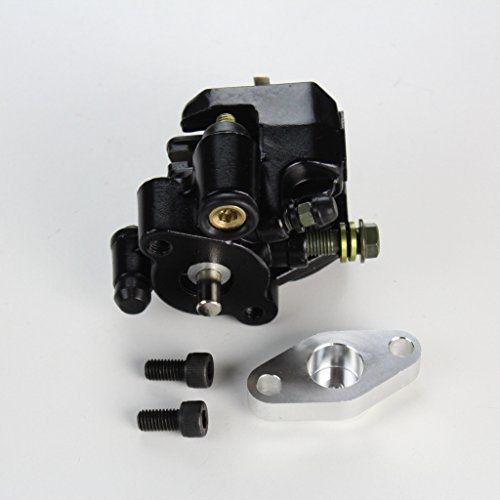 Yamaha Warrior 350 Rear Brake Caliper Assembly with Pads 1987-2004 by NICHE (Image #2)