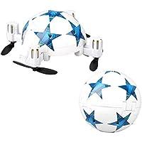 [RC Football Drone] Mini Folding World Cup Football Remote Control Quadcopter Micro Mini Aerocraft (C)