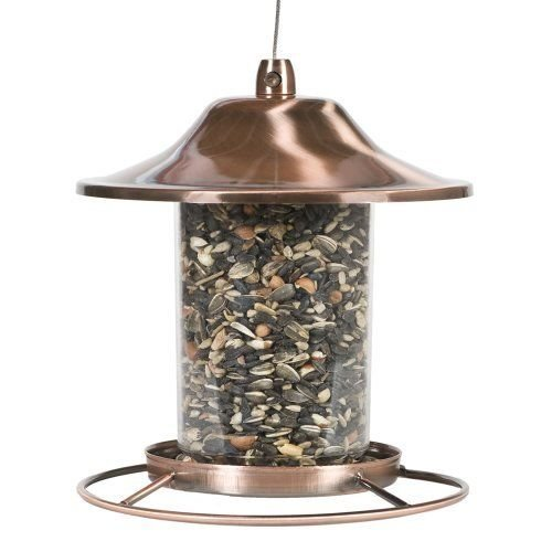(Ship from USA) Perky-Pet Copper Panorama Squirrel Proof Bird Feeder, 2 lb Bird Seed Capacity /ITEM NO#8Y-IFW81854275665