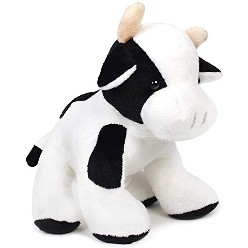 VIAHART Coraline The Cow | 7 Inch Stuffed Animal Plush Holstein | by Tiger Tale Toys (Black Stuffed Cow)