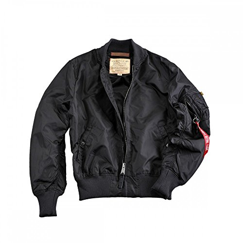 1 Bomberjacke Industries 191103 Ma Black Tt Alpha Jacket pwTOvxwq