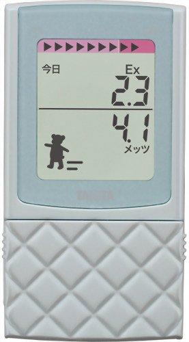 Tanita Pedometer with 3d Sensor Fb-729k-mt Mint by Tanita