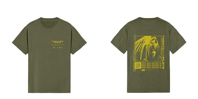 Twenty One Pilots Vulture Box Camiseta Aceituna: Amazon.es: Ropa y accesorios