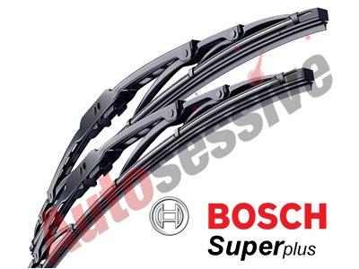 Lupo 06/98 - 07/05 BOSCH Super Plus Windscreen Wiper Blades SP21/19AS TWIN PACK
