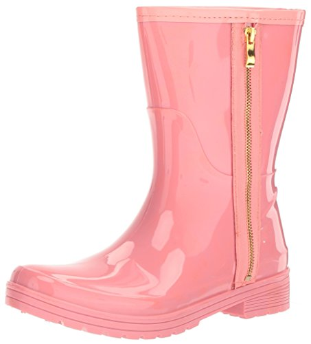 Unlisted Women's Zip Rain Boot, Salmon, 6 M US by Unlisted
