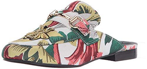 Talla Mules Mujeres Multicolor Madden Steve Brillante Cerrada Punta Kandi xPaxzYqS