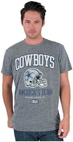 NFL Football T-Shirt Dallas Cowboys Americas Team Helmet Jack grau