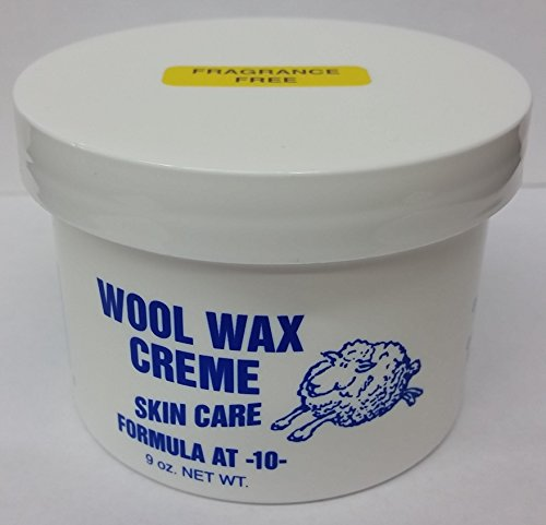 Wool Wax Creme Skin Care Formula AT-10 Fragrance Free 9 oz. Pack of 12