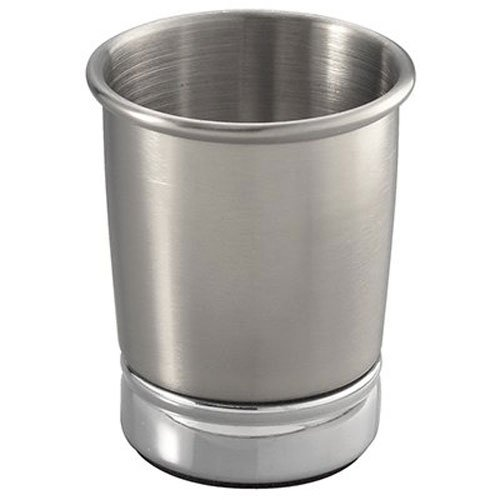 InterDesign York Tumbler Cup for Bathroom Vanity Countertops, Split Finish