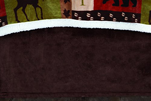 (Carstens, Inc Brown Plush, Queen Bed Skirt, Multicolor)