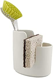 Scarlettwares Ceramic Sponge Holder Kitchen Caddy Sponge and Brush Holder