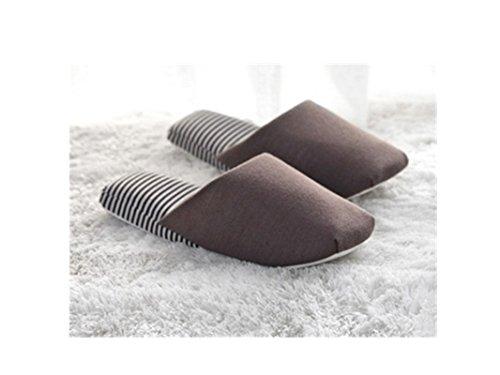 Cx Alla Moda Coppia Coperta / Pantofole Morbide Unisex, Pantofole Di Cotone Pantofole Spa Coffe