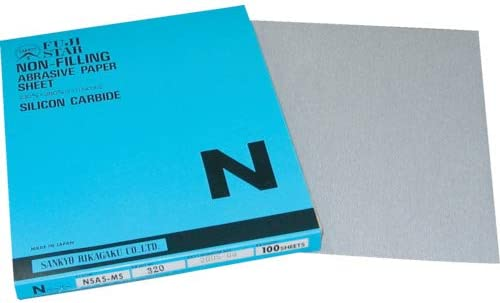 TRUSCO 三共 Nペーパー(空研ぎ研磨紙) NSASMS180 100個分