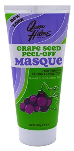 Queen Helene Original Formula Antioxidant Grape Seed Extract Peel Off Masque 6oz (3 Pack)
