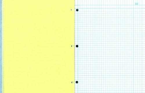 (NATIONAL Computation Notebook, 4 X 4 Quad, Gray, Cover, 11 x 9.25