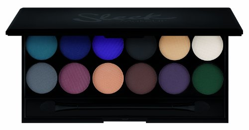Sleek Makeup i-Divine Lidschatten Palette Ultra Matte V2 mit Spiegel, 1er Pack ( 1 x 13 g )