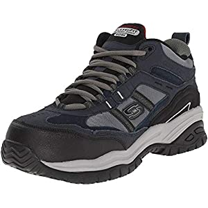 Skechers for Work Men's Soft Stride Canopy Slip Resistant Work Boot