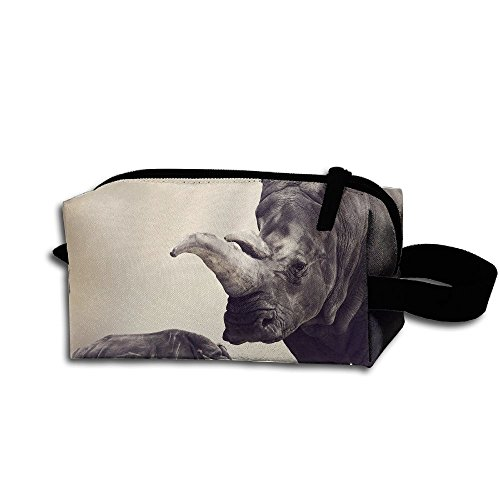 Makeup Cosmetic Bag Animals Zip Travel Portable Storage Pouch For Men Women by Alone