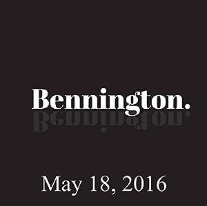 Bennington, Josh Gad, May 18, 2016 Radio/TV Program